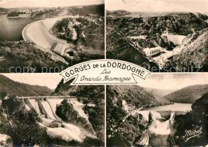 AK / Ansichtskarte Saint Denis les Martel Gorges de la Dordogne les grands barrages Saint Denis les Martel