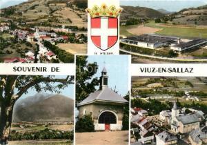 AK / Ansichtskarte Viuz en Sallaz Vues panoramiques le Mole Alpes Chapelle Eglise Viuz en Sallaz