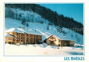 AK / Ansichtskarte Aillon le Jeune Village de Vacances Les Niveoles en hiver Aillon le Jeune