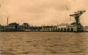 AK / Ansichtskarte Cherbourg_Octeville_Basse_Normandie La Nouvelle Jetee et la Grue servant a enlever les Hydravions pour la rentree aux hangars Cherbourg_Octeville