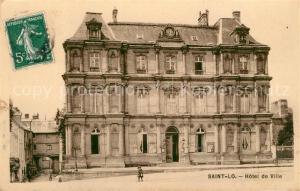 AK / Ansichtskarte Saint Lo d_Ourville Hotel de Ville Saint Lo d_Ourville