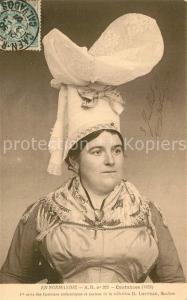 AK / Ansichtskarte Coutances Costumes authentiques en Normandie Coutances