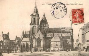 AK / Ansichtskarte Valognes Eglise Saint Malo Valognes