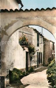 AK / Ansichtskarte Les_Portes en Re Une jolie ruelle Les_Portes en Re