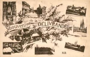 AK / Ansichtskarte La_Delivrande Vue partielle La_Delivrande