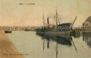 AK / Ansichtskarte Caen Le Bassin Caen