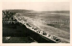 AK / Ansichtskarte Blonville sur Mer Vue generale de la Plage Blonville sur Mer