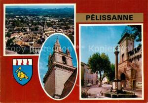 AK / Ansichtskarte Pelissanne Vue aerienne Vue partielle Pelissanne