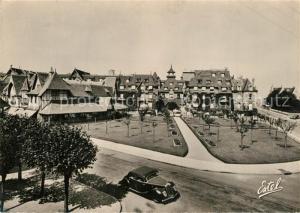 AK / Ansichtskarte Deauville Hotel Normandy facade sur les Jardins Deauville