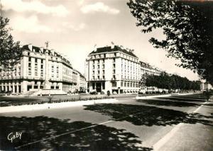 AK / Ansichtskarte Caen Monument aux Morts et Hotel Malherbe Caen