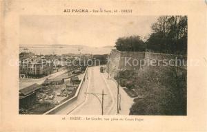 AK / Ansichtskarte Brest_Finistere Le Goulet vue prise du Cours Dajot Brest_Finistere