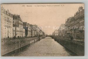 AK / Ansichtskarte Rennes_Ille et Vilaine Les Quais Duguay Trouin et Lamennais