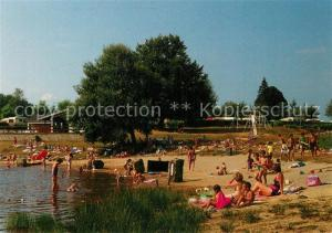 AK / Ansichtskarte Auriac_Correze Camping municipal Lac Plage Auriac Correze