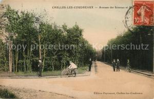 AK / Ansichtskarte Les_Coudreaux Avenues des Sciences