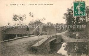 AK / Ansichtskarte Voulx Lavoir des Foulons sur l Orvanne Voulx