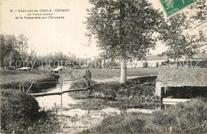 AK / Ansichtskarte Cornoy Vieux Lavoir Passerelle sur l Orvanne