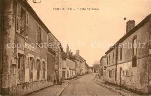 AK / Ansichtskarte Thoury Ferottes Route de Voulx Thoury Ferottes