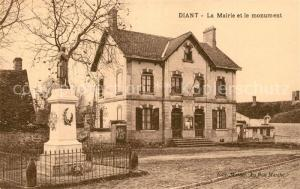AK / Ansichtskarte Diant Mairie Monument  Diant