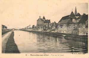 AK / Ansichtskarte Mennetou sur Cher Canal Mennetou sur Cher