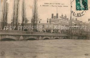 AK / Ansichtskarte Melun_Seine_et_Marne Pont de l ancien Chatelet  Melun_Seine_et_Marne