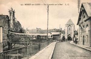 AK / Ansichtskarte Moret sur Loing Pont  Moret sur Loing