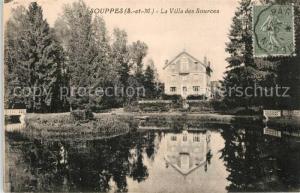 AK / Ansichtskarte Souppes sur Loing Villa des Sources  Souppes sur Loing