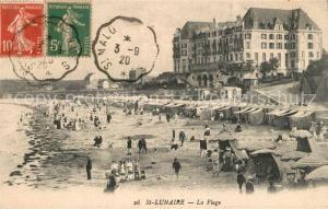 AK / Ansichtskarte Saint Lunaire Plage  Saint Lunaire