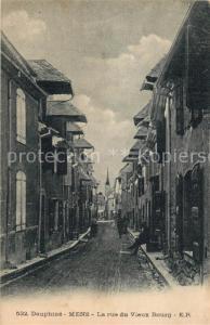 AK / Ansichtskarte Mens Rue du Vieux Bourg Mens