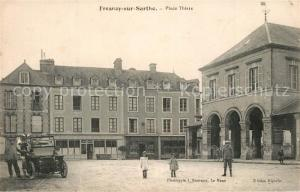 AK / Ansichtskarte Fresnay sur Sarthe Place Thiers Fresnay sur Sarthe