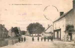 AK / Ansichtskarte Farges en Septaine Route d Avor Farges en Septaine