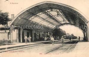 AK / Ansichtskarte Pamiers La gare Bahnhof Pamiers