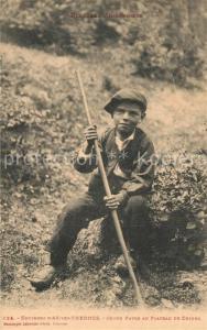 AK / Ansichtskarte Ax les Thermes Jeune patre au Plateau de Chioul Ax les Thermes