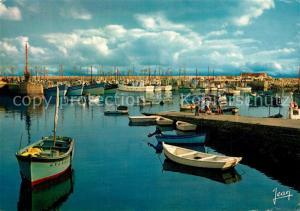 AK / Ansichtskarte Lesconil_Plobannalec Le port Bateaux de peche