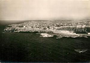 AK / Ansichtskarte Saint Guenole Le port Roche des Victimes vue aerienne Saint Guenole