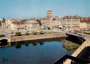 AK / Ansichtskarte Rennes_Ille et Vilaine Pont de la Mission au fond les Tours de la Cathedrale