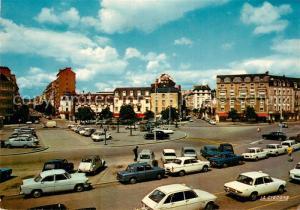 AK / Ansichtskarte Rennes_Ille et Vilaine Place de la Gare Grands Hotels Avenue Janvier