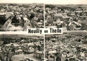 AK / Ansichtskarte Neuilly en Thelle Vue d ensemble vue aerienne Neuilly en Thelle