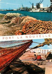 AK / Ansichtskarte Port la Nouvelle Port Bateaux de peche Pecheurs Port la Nouvelle