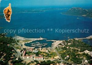 AK / Ansichtskarte Porto Vecchio Port de plaisance Golfe Pointe Saint Cyprien vue aerienne Porto Vecchio