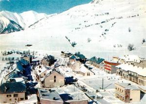 AK / Ansichtskarte Larche_Alpes de Haute Provence Vue aerienne dans la Rochaille Alpes en hiver Larche