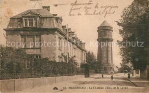 AK / Ansichtskarte Haguenau_Bas_Rhin Chateau d Eau Lycee Haguenau_Bas_Rhin