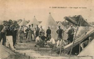 AK / Ansichtskarte Camp_de_Mailly Une rangee de Tentes Camp_de_Mailly