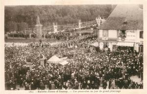 AK / Ansichtskarte Sainte Anne d_Auray Procession grand pelerinage Sainte Anne d Auray