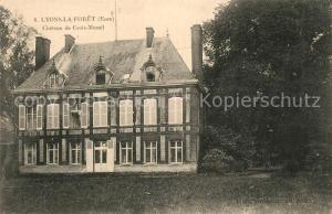 AK / Ansichtskarte Lyons la Foret Chateau de Croix Mesnil Lyons la Foret