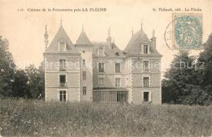 AK / Ansichtskarte La_Fleche Chateau de la Poissonniere La_Fleche
