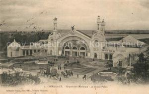 AK / Ansichtskarte Bordeaux Exposition Maritime Grand Palais Bordeaux