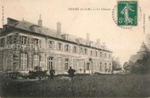 AK / Ansichtskarte Herme Chateau Herme