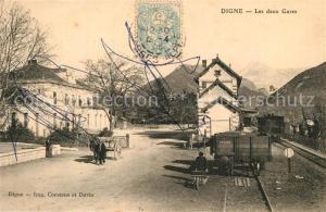 AK / Ansichtskarte Digne les Bains Leux deux gares Digne les Bains