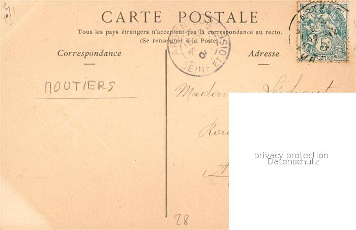 AK / Ansichtskarte Moutiers_Chartres Parc a moutons Moutiers Chartres 1