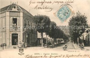 AK / Ansichtskarte Sens_Yonne Avenue Vauban Sens_Yonne